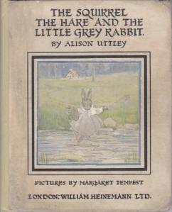 squirrel hare little grey rabbit
