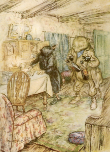 wind in the willows paul bransom