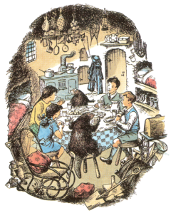 Narnia Beaver's house
