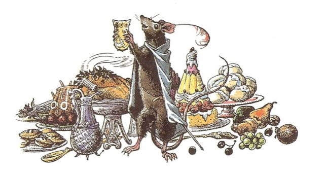 Narnia reepicheep feast